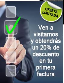 Promoción visita de 20% de descuento en tu primera factura en Melior Madrid